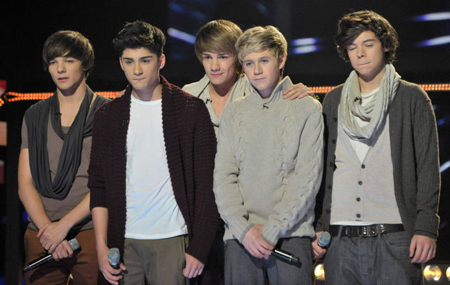 One direction x factor